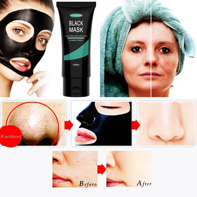 Charcoal Mask (Blackhead Removal Peel Off Mask) Best Blackhead Mask for  Removing Blackheads Acne on Nose Face